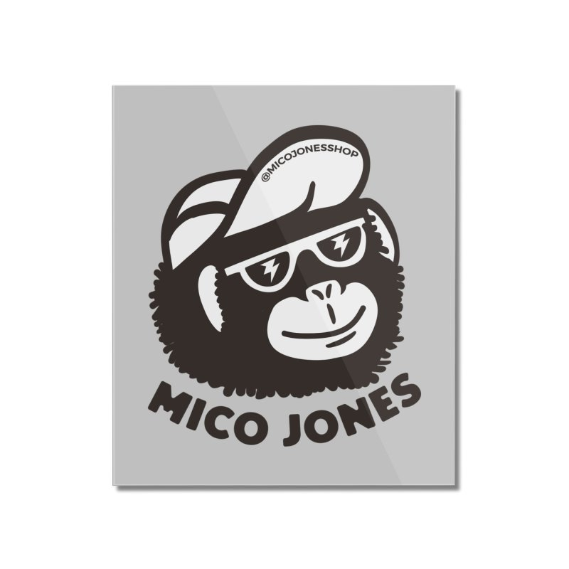Mico Jones Mono Home Mounted Acrylic Print by Mico Jones Artist Shop