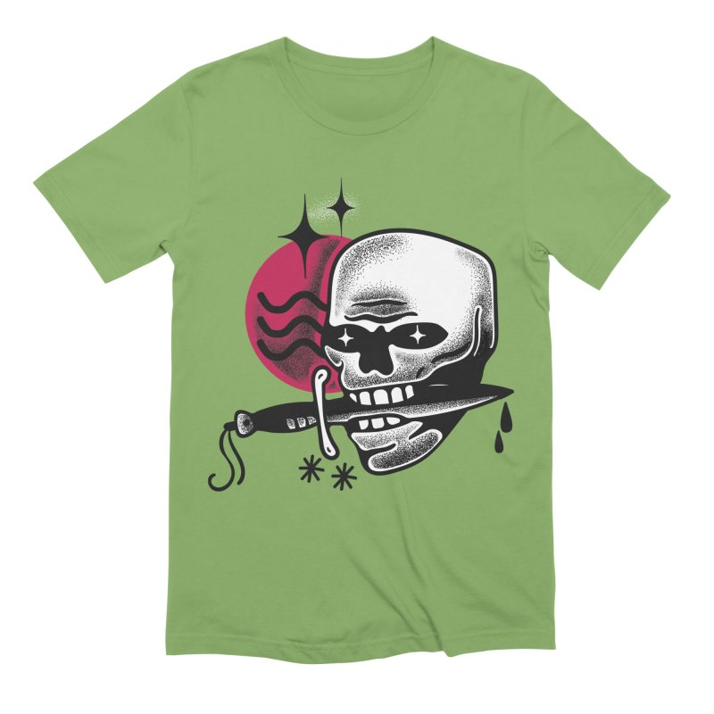 KNIFE Men's Extra Soft T-Shirt by Mico Jones Artist Shop