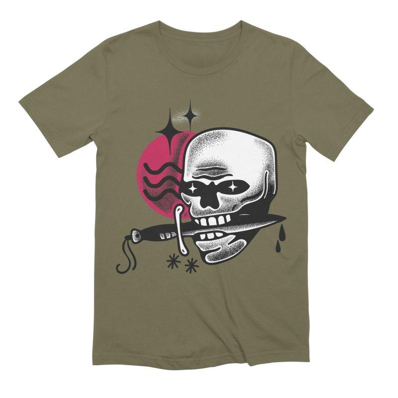 KNIFE Men's Extra Soft T-Shirt by Mico Jones Artist Shop