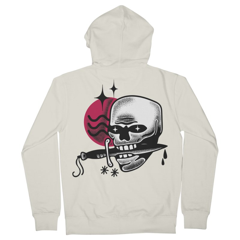 KNIFE Women's French Terry Zip-Up Hoody by Mico Jones Artist Shop