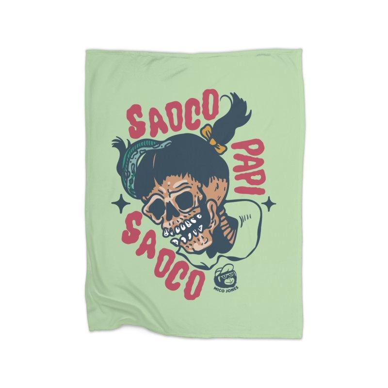 SAOCO Home Blanket by Mico Jones Artist Shop