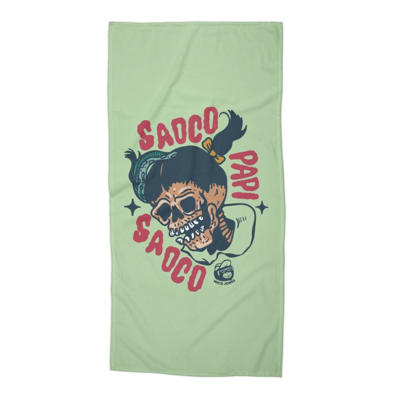 SAOCO Accessories Beach Towel by Mico Jones Artist Shop