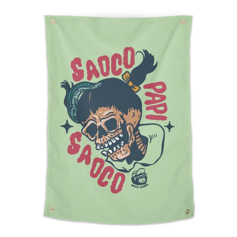 SAOCO Home Tapestry by Mico Jones Artist Shop