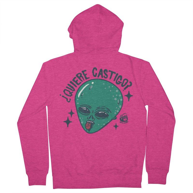 CASTIGO Women's Zip-Up Hoody by Mico Jones Artist Shop