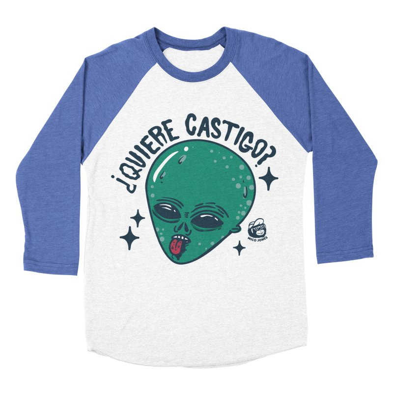 CASTIGO Men's Baseball Triblend T-Shirt by Mico Jones Artist Shop