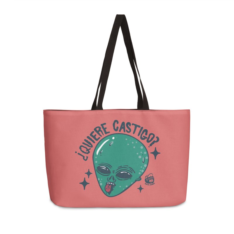 CASTIGO Accessories Weekender Bag Bag by Mico Jones Artist Shop