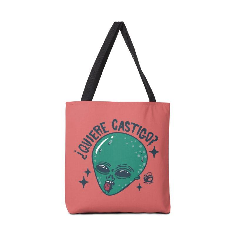 CASTIGO Accessories Bag by Mico Jones Artist Shop