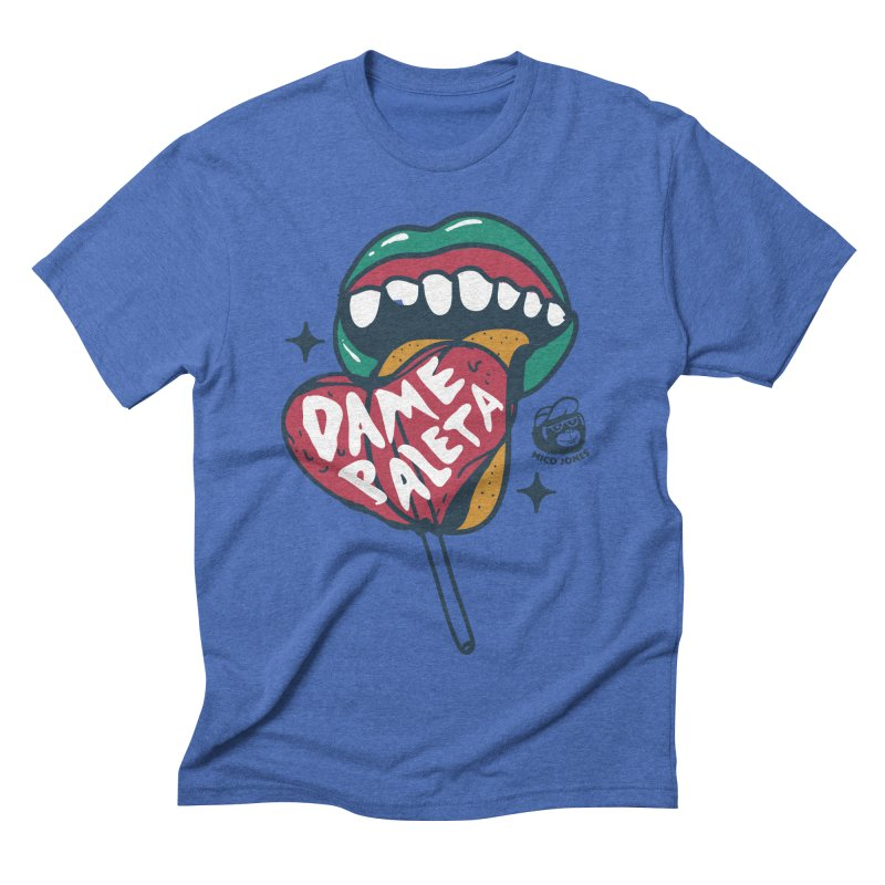 PALETA Men's Triblend T-shirt by Mico Jones Artist Shop