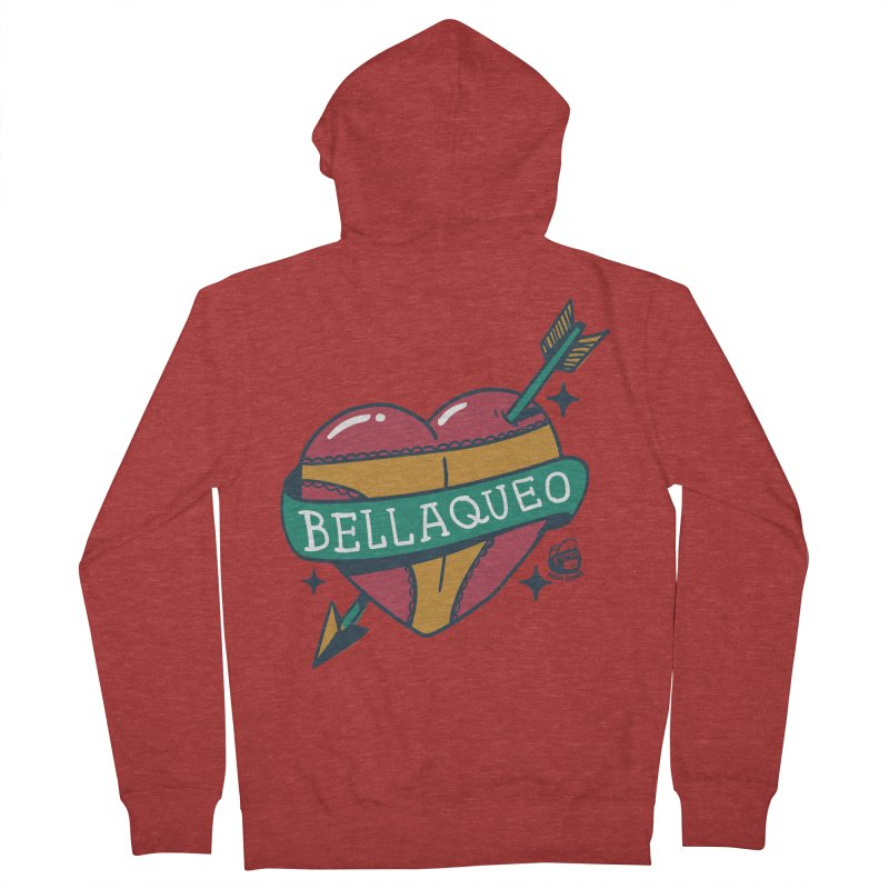 BELLAQUEO Women's Zip-Up Hoody by Mico Jones Artist Shop