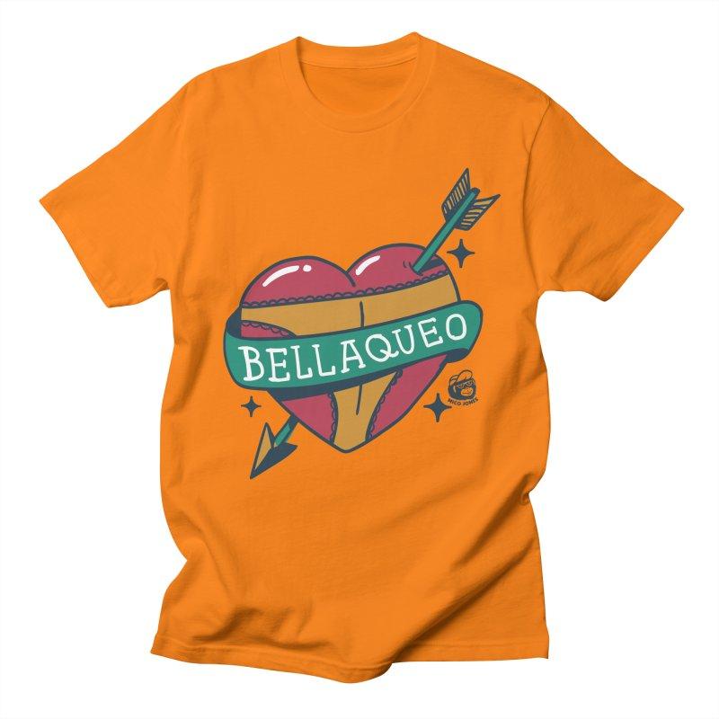 BELLAQUEO Men's T-shirt by Mico Jones Artist Shop