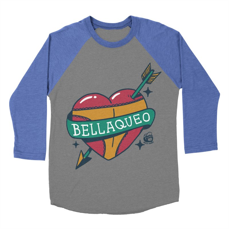 BELLAQUEO Women's Baseball Triblend T-Shirt by Mico Jones Artist Shop
