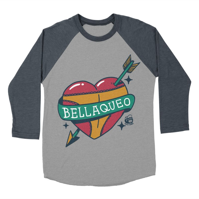 BELLAQUEO Men's Baseball Triblend T-Shirt by Mico Jones Artist Shop