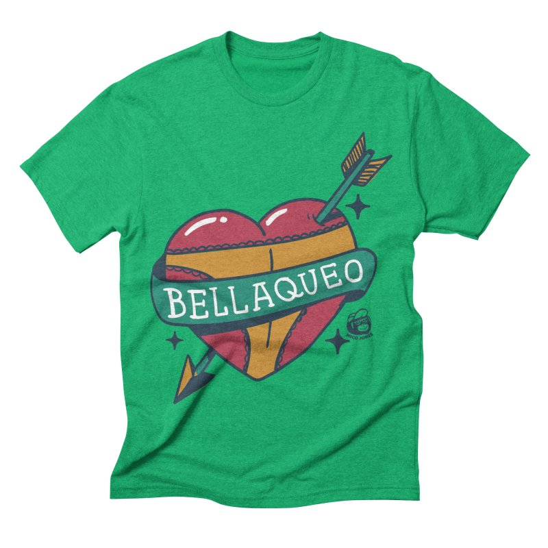BELLAQUEO Men's Triblend T-shirt by Mico Jones Artist Shop
