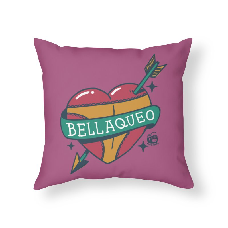 BELLAQUEO Home Throw Pillow by Mico Jones Artist Shop