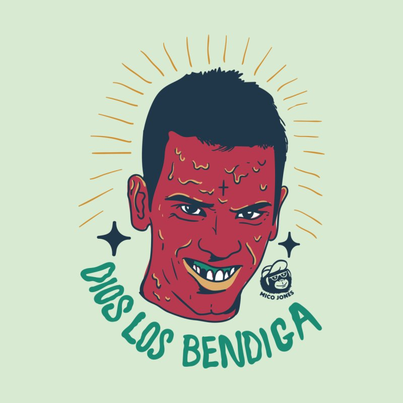 DIOS LOS BENDIGA by Mico Jones Artist Shop