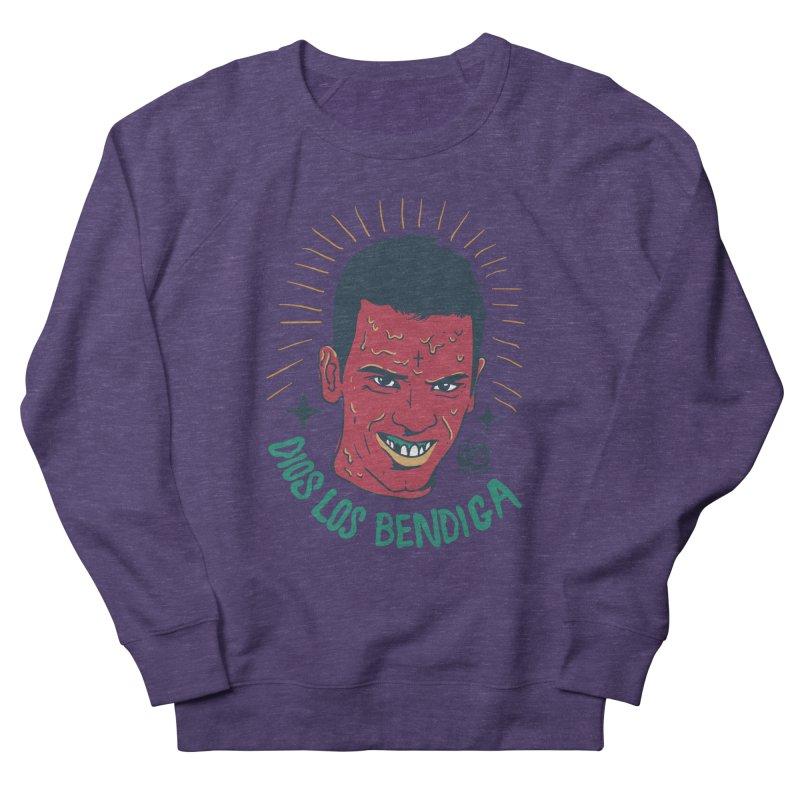 DIOS LOS BENDIGA Men's Sweatshirt by Mico Jones Artist Shop