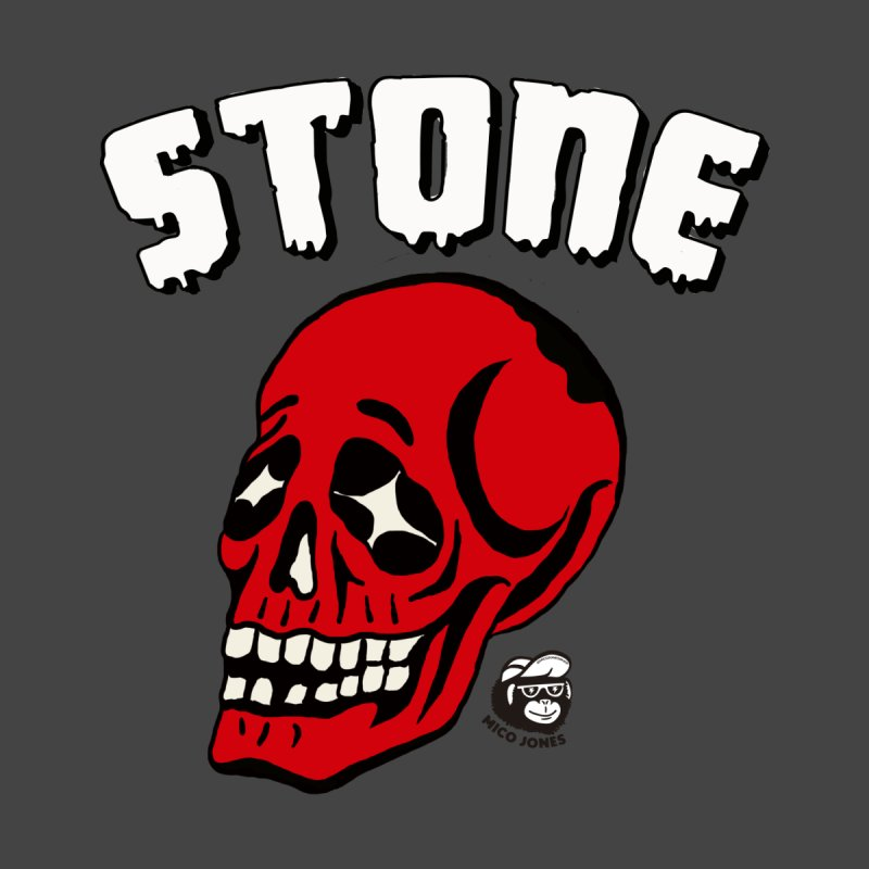 STONE SkULL by Mico Jones Artist Shop