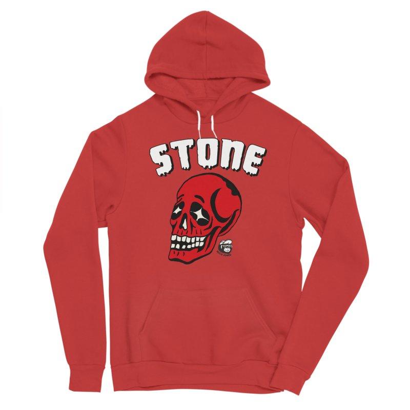 STONE SkULL Men's Pullover Hoody by Mico Jones Artist Shop