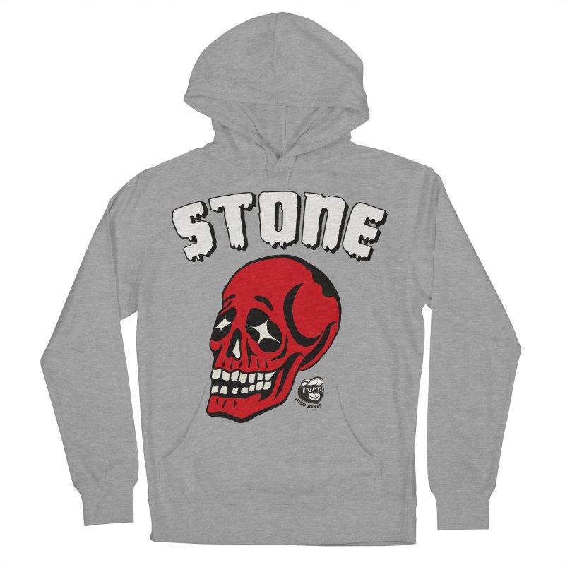 STONE SkULL Women's Pullover Hoody by Mico Jones Artist Shop