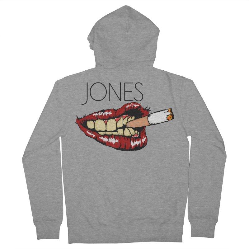 JONES DOPE LIPS Women's Zip-Up Hoody by Mico Jones Artist Shop