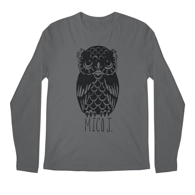 MICO OWL Men's Longsleeve T-Shirt by Mico Jones Artist Shop