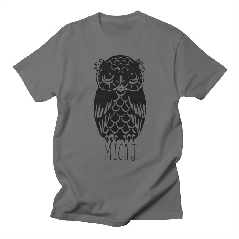 MICO OWL Men's T-shirt by Mico Jones Artist Shop