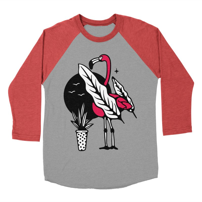 TROPICAL NIGTH Men's Baseball Triblend T-Shirt by Mico Jones Artist Shop