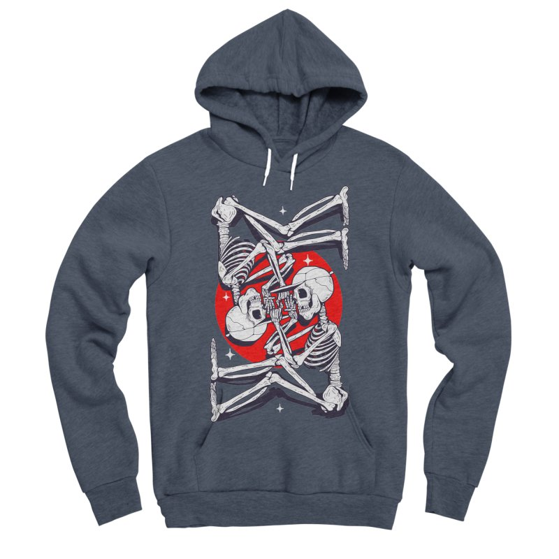 FIRE UP Men's Sponge Fleece Pullover Hoody by Mico Jones Artist Shop
