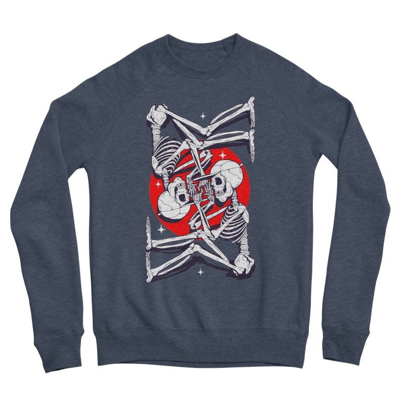 FIRE UP Men's Sponge Fleece Sweatshirt by Mico Jones Artist Shop