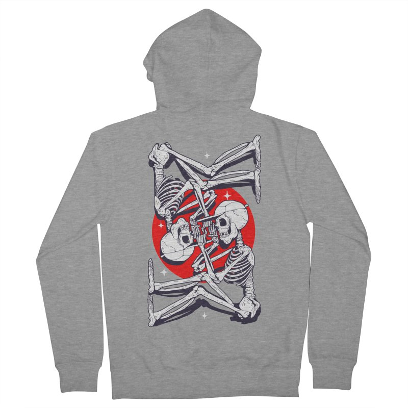 FIRE UP Women's French Terry Zip-Up Hoody by Mico Jones Artist Shop
