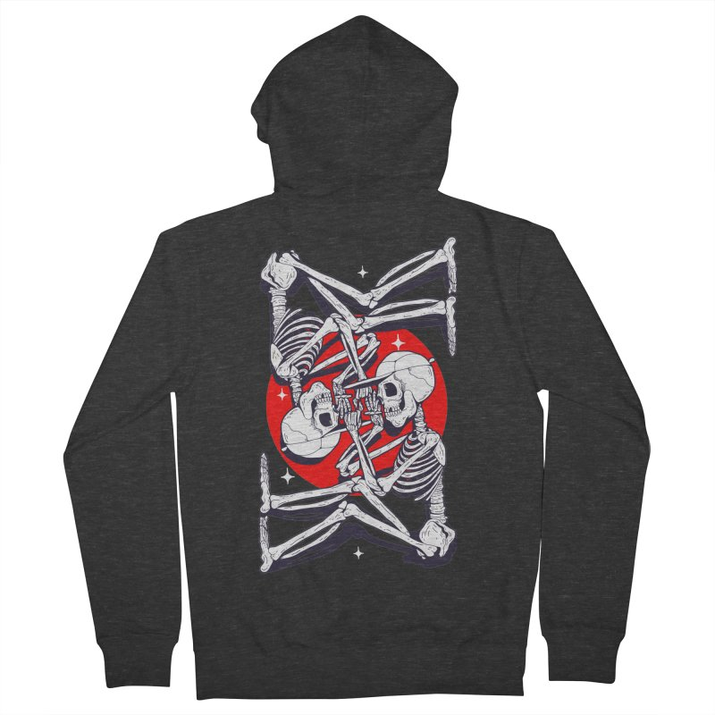 FIRE UP Men's Zip-Up Hoody by Mico Jones Artist Shop