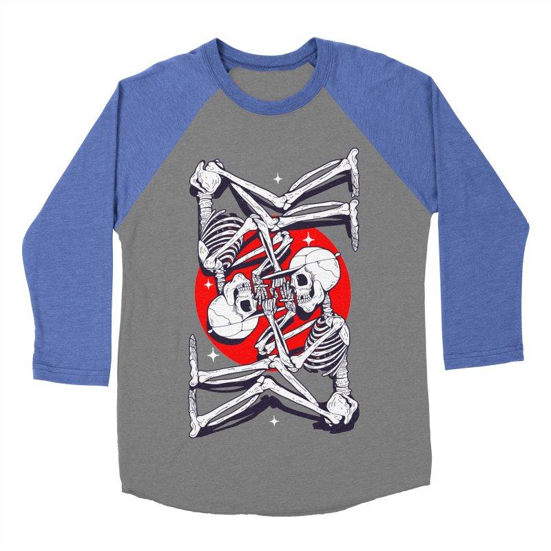 FIRE UP Men's Baseball Triblend T-Shirt by Mico Jones Artist Shop