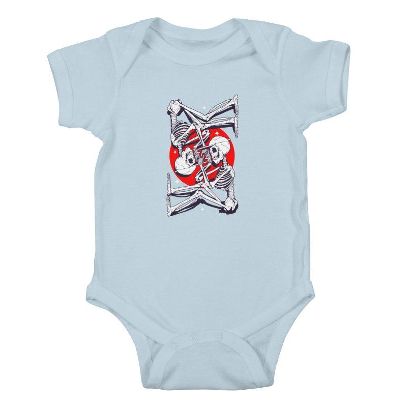 FIRE UP Kids Baby Bodysuit by Mico Jones Artist Shop