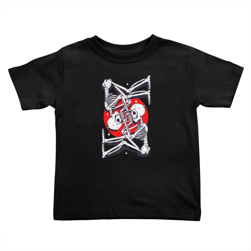 FIRE UP Kids Toddler T-Shirt by Mico Jones Artist Shop