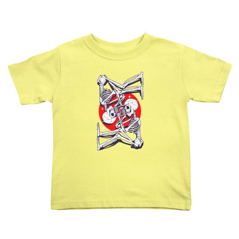 FIRE UP Kids Toddler T-Shirt by Mico Jones Artist Shop