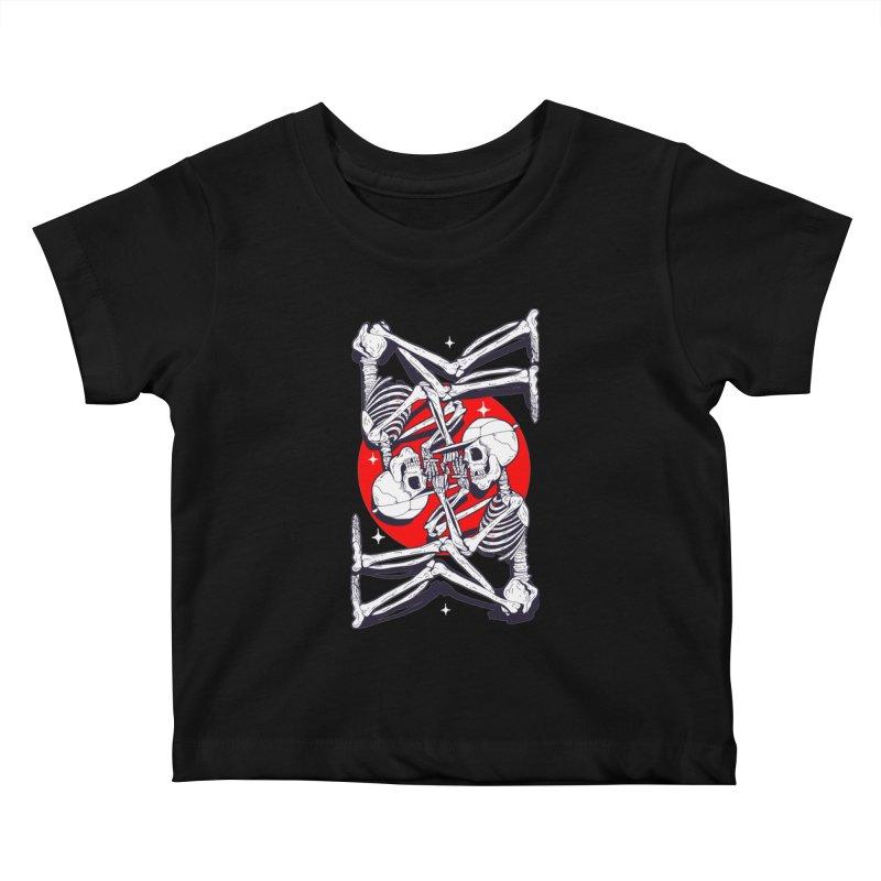 FIRE UP Kids Baby T-Shirt by Mico Jones Artist Shop