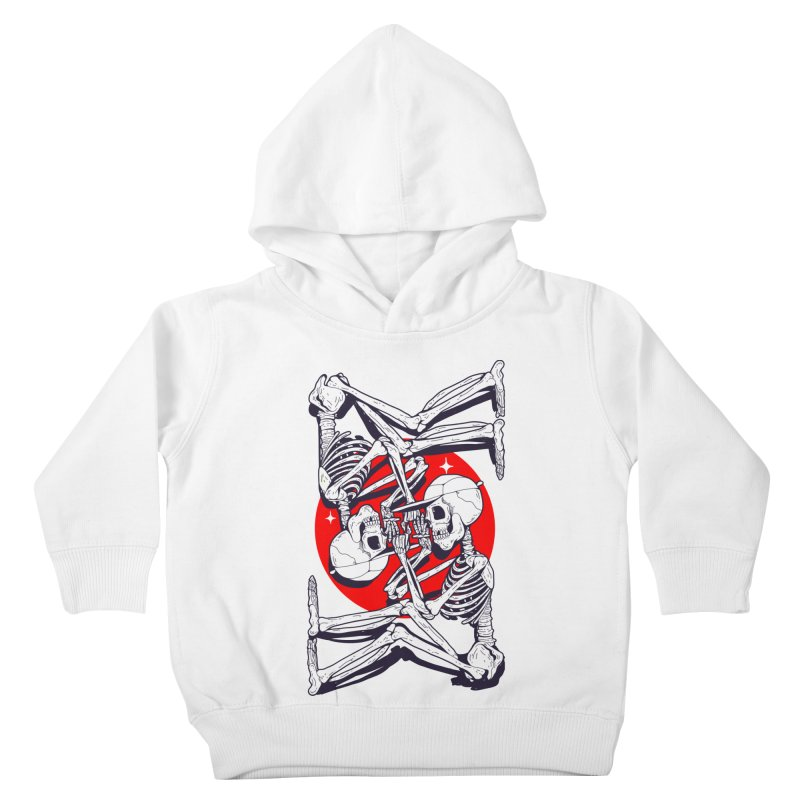 FIRE UP Kids Toddler Pullover Hoody by Mico Jones Artist Shop