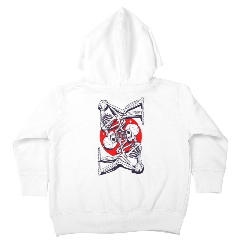FIRE UP Kids Toddler Zip-Up Hoody by Mico Jones Artist Shop