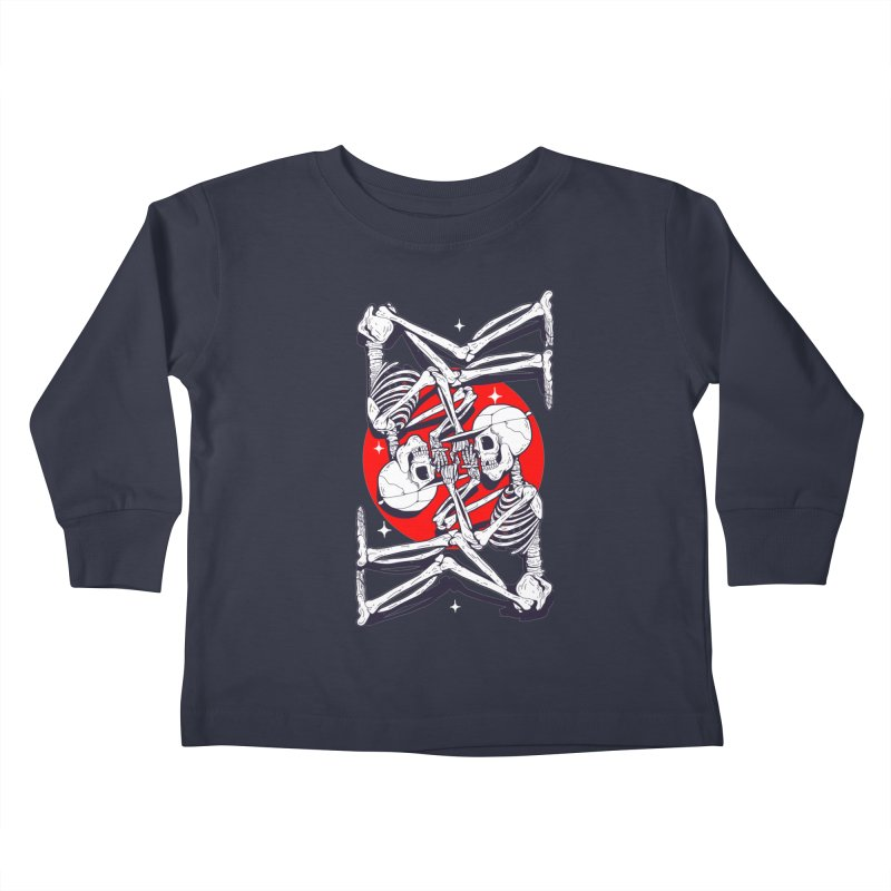 FIRE UP Kids Toddler Longsleeve T-Shirt by Mico Jones Artist Shop