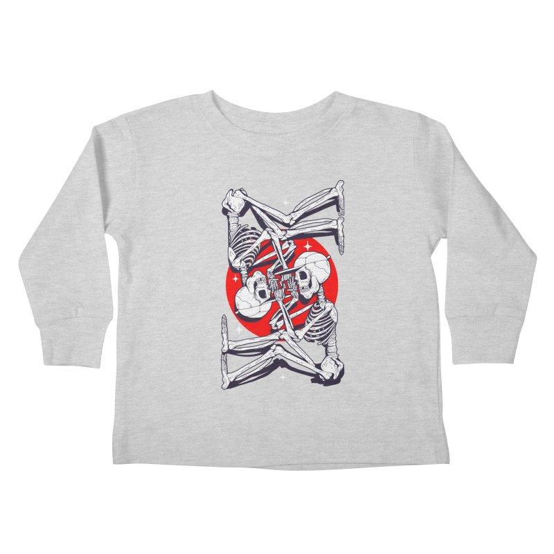 FIRE UP Kids Toddler Longsleeve T-Shirt by Mico Jones Artist Shop