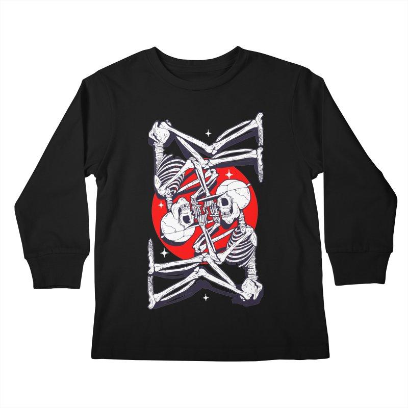 FIRE UP Kids Longsleeve T-Shirt by Mico Jones Artist Shop