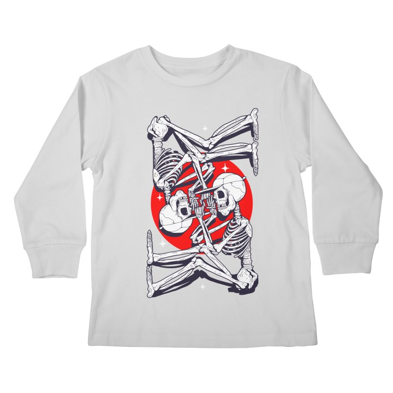 FIRE UP Kids Longsleeve T-Shirt by Mico Jones Artist Shop