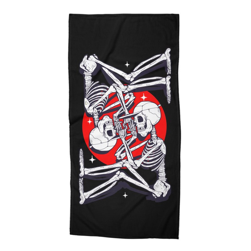 FIRE UP Accessories Beach Towel by Mico Jones Artist Shop