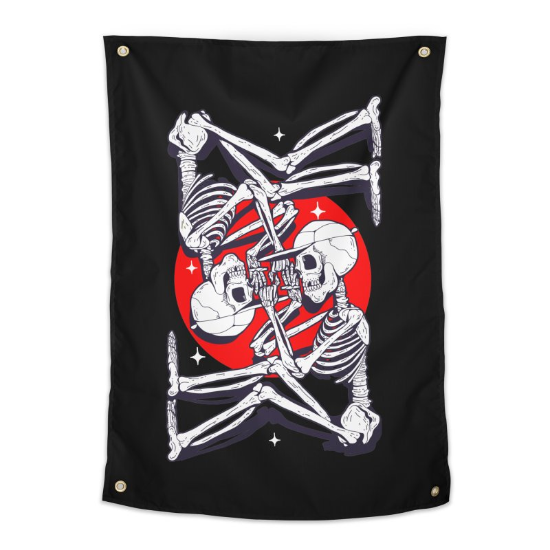 FIRE UP Home Tapestry by Mico Jones Artist Shop