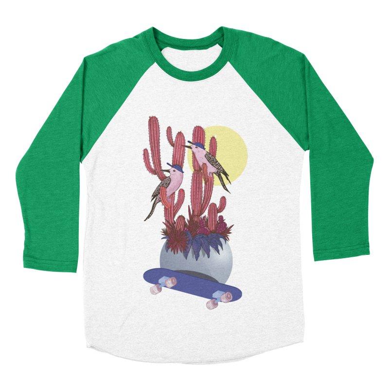 PRO CACTUS Men's Baseball Triblend T-Shirt by Mico Jones Artist Shop