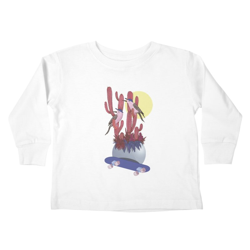 PRO CACTUS Kids Toddler Longsleeve T-Shirt by Mico Jones Artist Shop