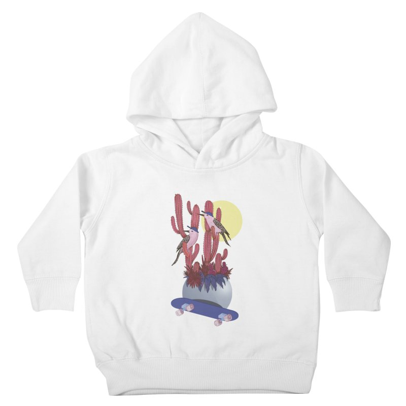 PRO CACTUS Kids Toddler Pullover Hoody by Mico Jones Artist Shop