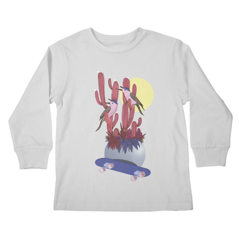 PRO CACTUS Kids Longsleeve T-Shirt by Mico Jones Artist Shop