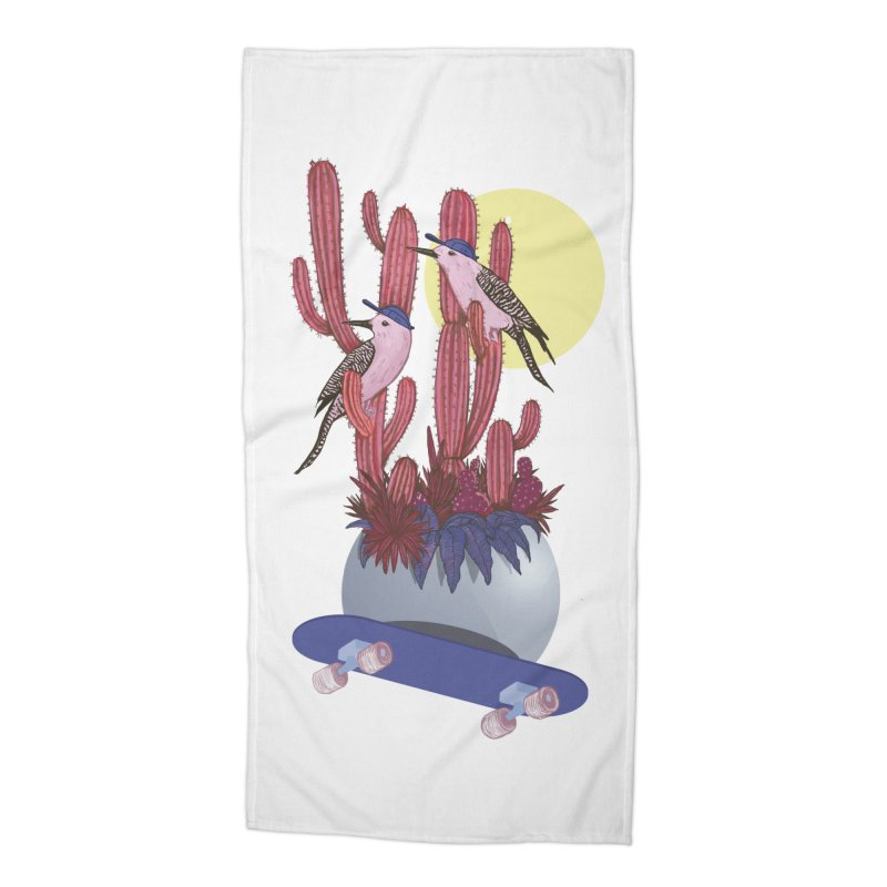 PRO CACTUS Accessories Beach Towel by Mico Jones Artist Shop