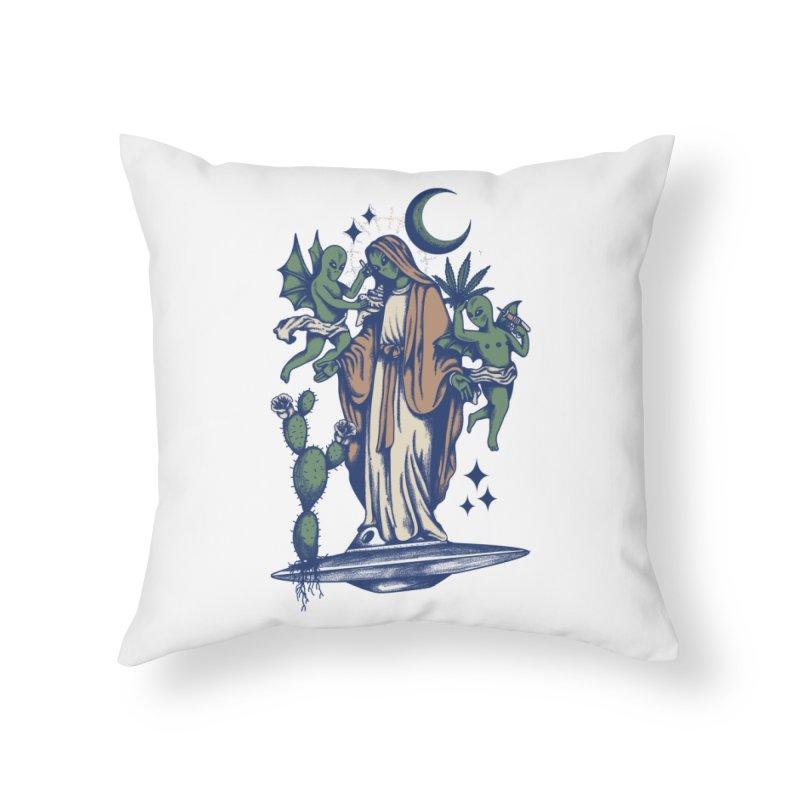La Ambulancia Home Throw Pillow by Mico Jones Artist Shop